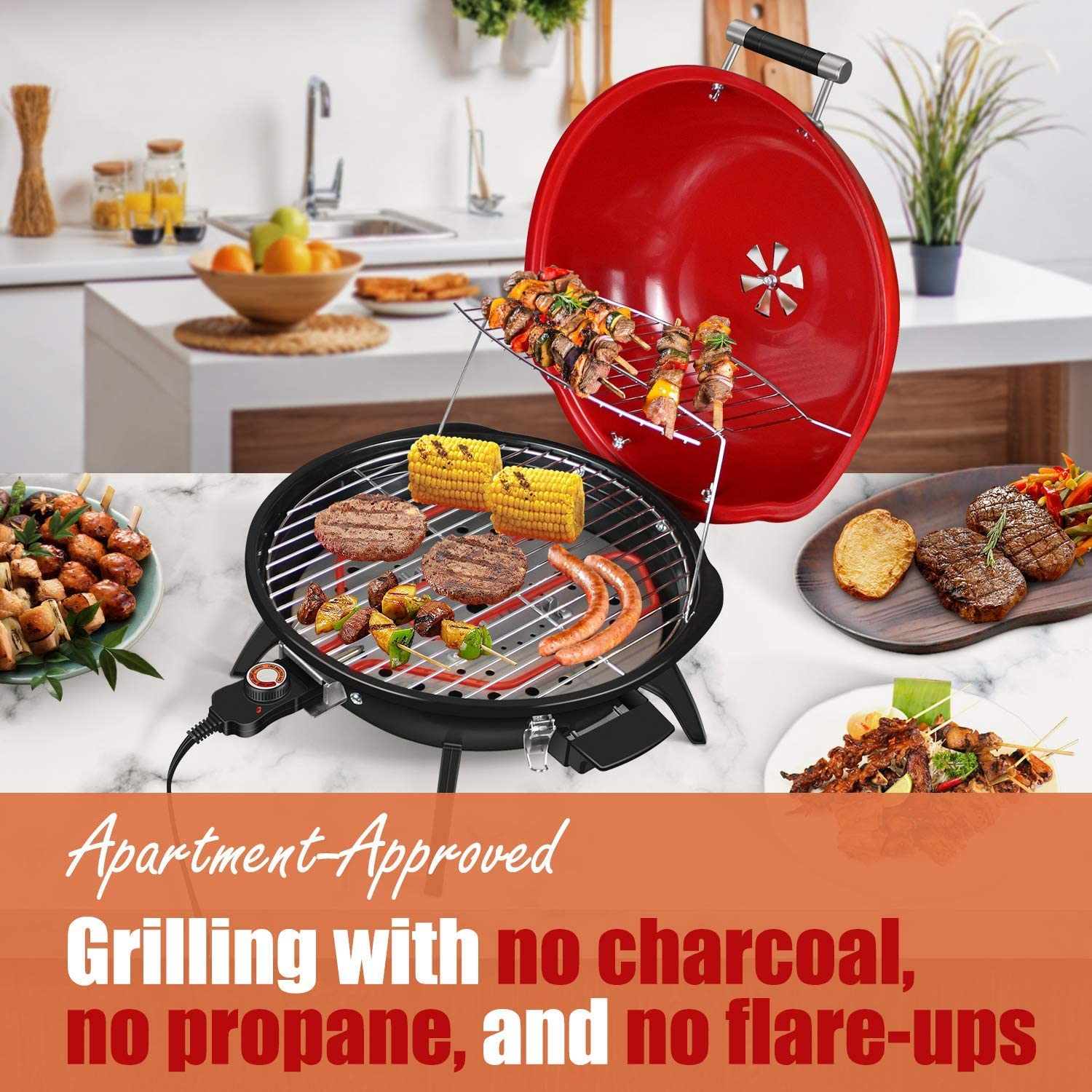 Techwood Electric BBQ Griller