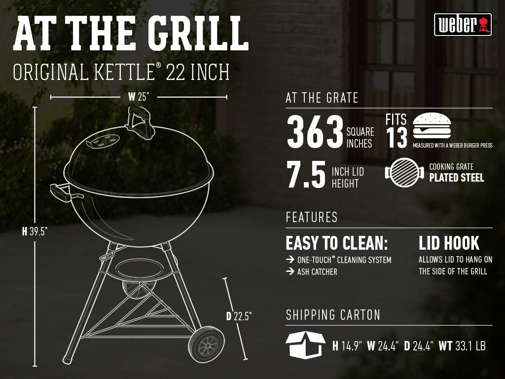 Weber 741001 Charcoal Grill