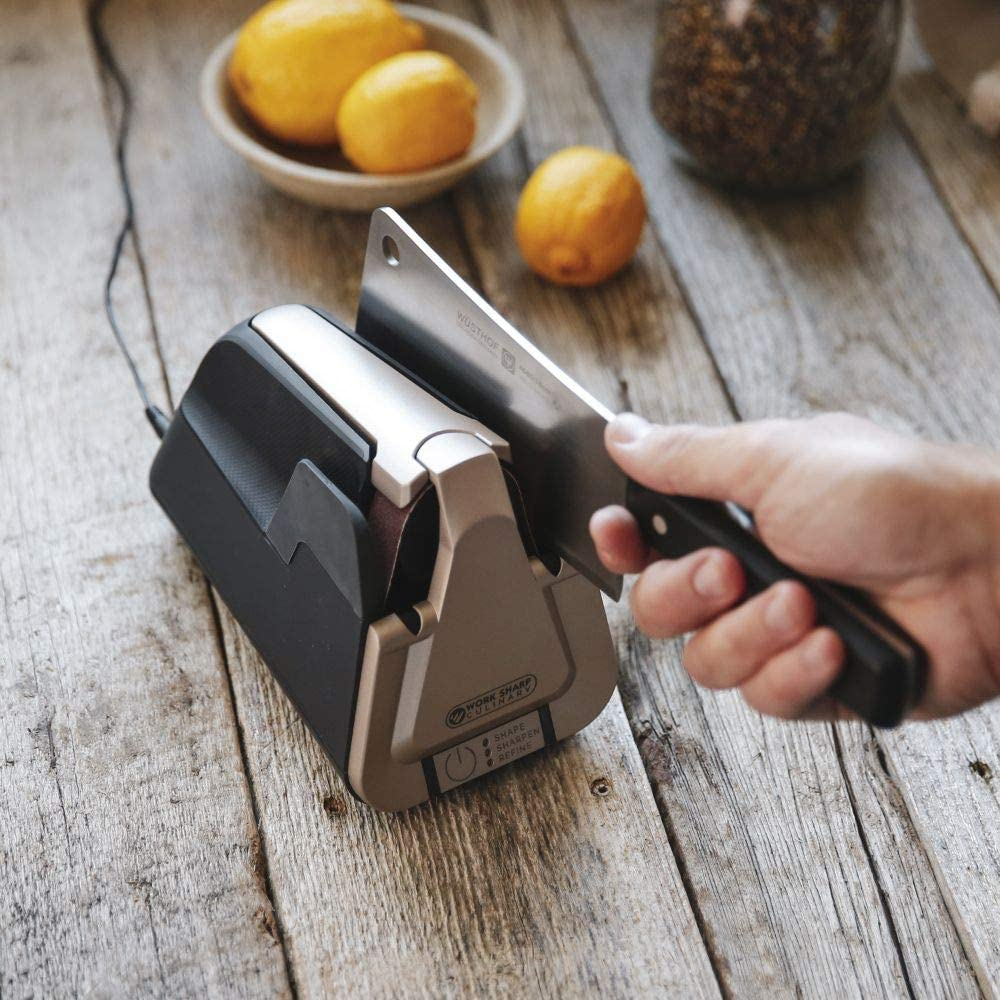 Work Sharp Culinary E5 Kitchen Knife Sharpener clever sharping