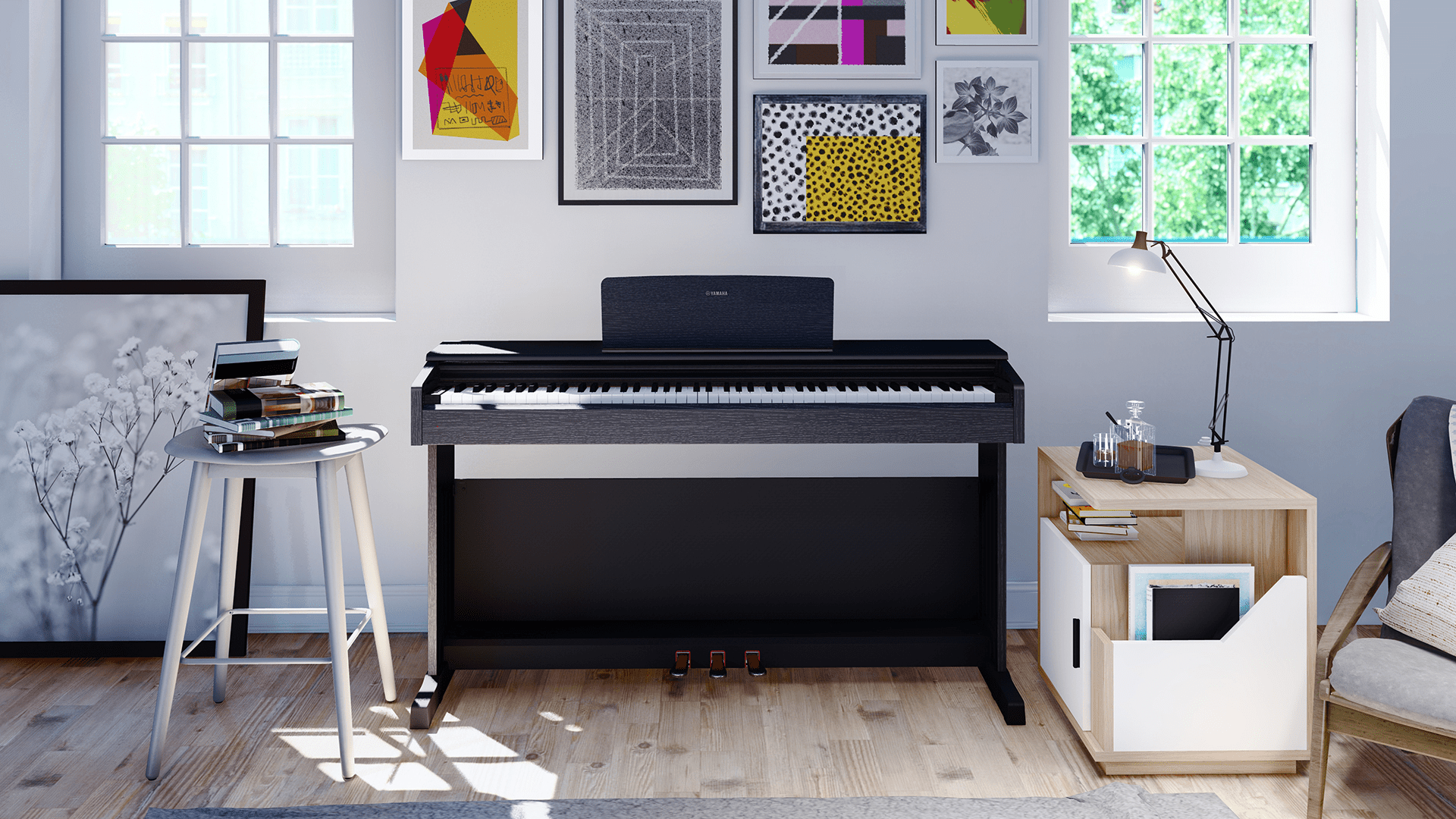 Yamaha Arius YDP-143R Digital Piano