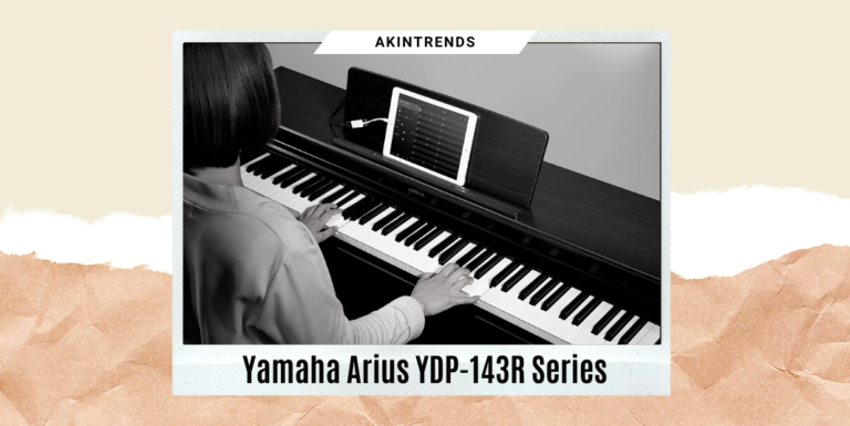 Yamaha Arius YDP-143R Series Console Digital Piano