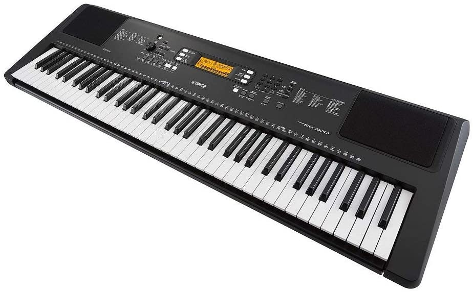 Yamaha PSR-EW300 keys