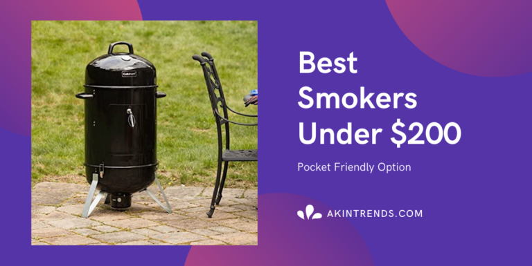 Best Smokers Under $200