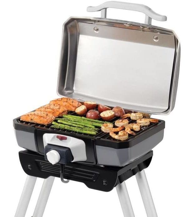 Cuisinart CEG-980 Electric Grill in use