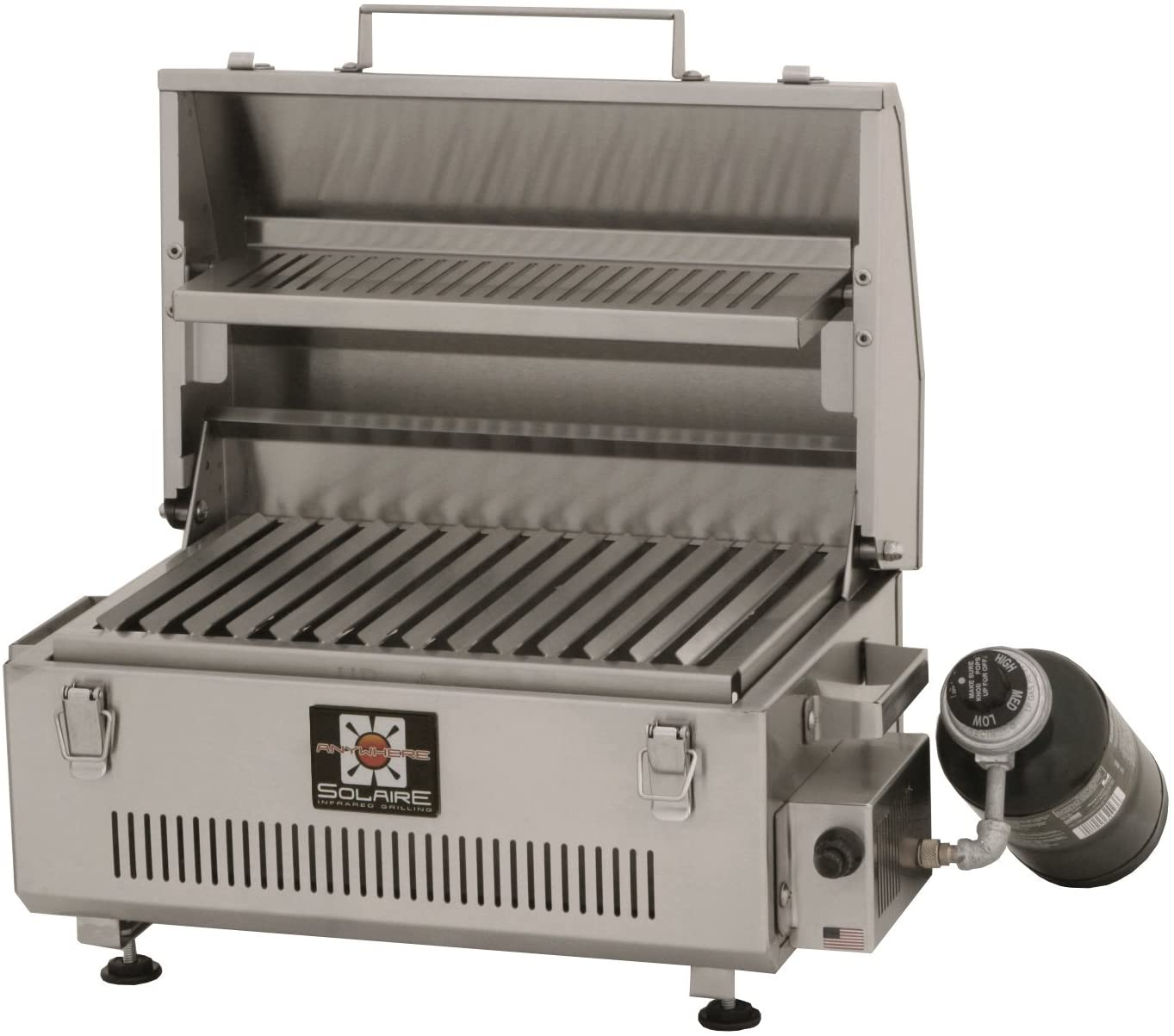Solaire SOL-IR17BWR Portable Infrared Grill