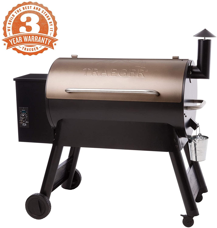 Traeger Pro Series 34 Grill construction warranty