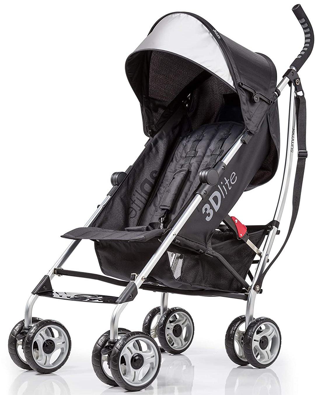 3Dlite Black Convenience Stroller