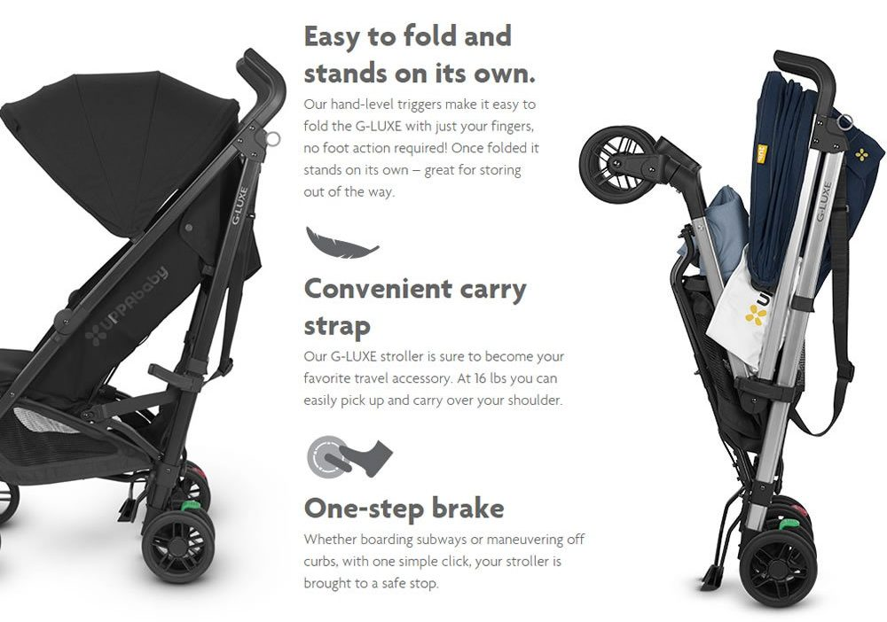 UPPAbaby G-Luxe Stroller features