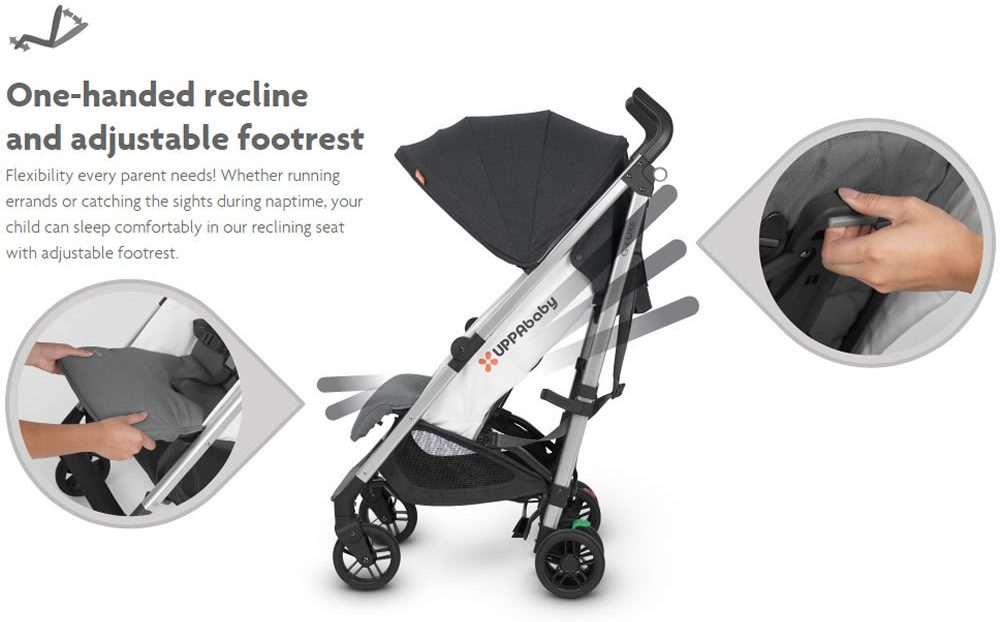 UPPAbaby G-Luxe Stroller folding